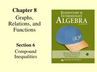 Chapter 8 Graphs, Relations, and Functions