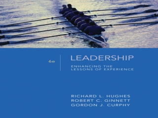 Why Study Leadership