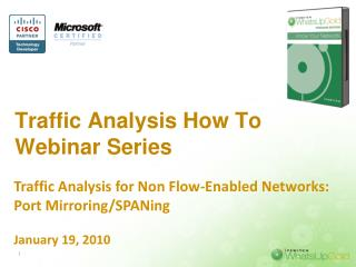 Traffic Analysis How To Webinar Series
