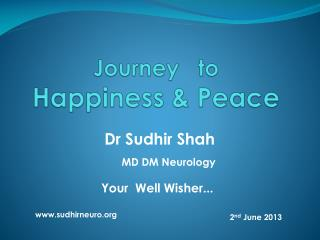 Journey   to  Happiness & Peace