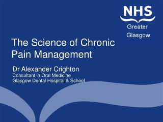 The Science of Chronic Pain Management