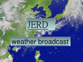 weather broadcast