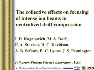 The collective effects on focusing of intense ion beams in neutralized drift compression