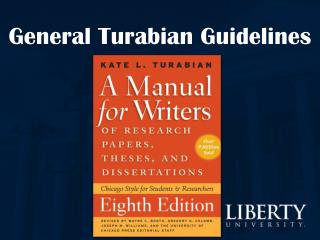 General Turabian Guidelines