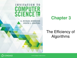 Search Algorithms and Order of Efficiency