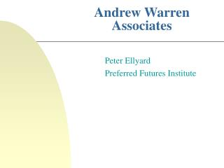 Andrew Warren Associates