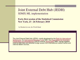 Joint External Debt Hub (JEDH)