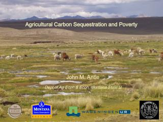 Agricultural Carbon Sequestration and Poverty