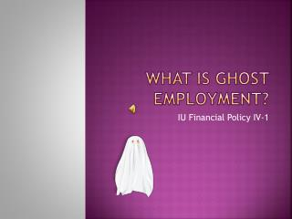 What is Ghost Employment?