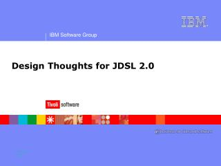 Design Thoughts for JDSL 2.0