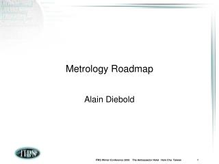 Metrology Roadmap