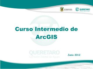 Curso Intermedio de ArcGIS