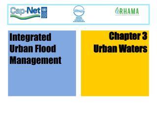 Chapter 3 Urban Waters