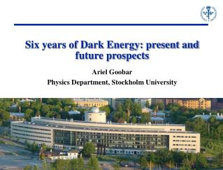 Six years of Dark Energy: present and future prospects