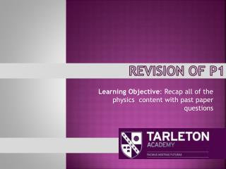 Revision of P1