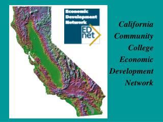 California     Community           College                Economic