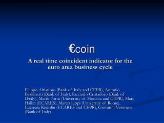 € coin