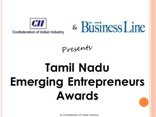 Tamil Nadu Emerging Entrepreneurs Awards