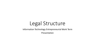 Incorporations  Share Structure