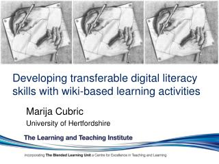 Developing transferable digital literacy  skills with wiki-based learning activities
