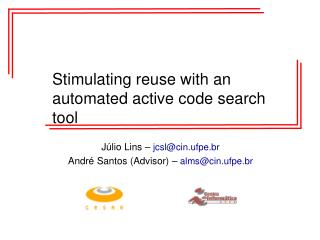 Stimulating reuse with an automated active code search tool