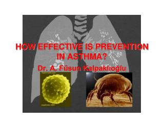 HOW EFFECTIVE IS PREVENTION IN ASTHMA?