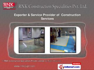 Chemical Waterproofing Services  Industrial Flooring Systems