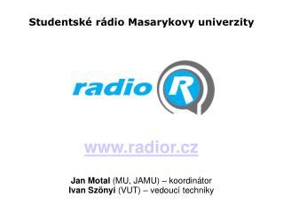 Studentské rádio Masarykovy univerzity