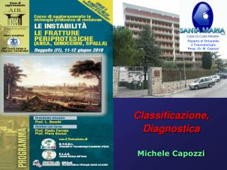Classificazione, Diagnostica Michele Capozzi