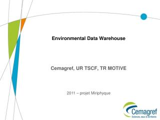 Environmental Data Warehouse