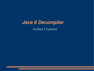 Java 6 Decompiler
