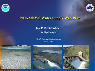 NOAA/NWS Water Supply Web Page