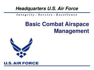 Basic Combat Airspace  Management
