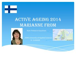 Active ageing 2014 Marianne From