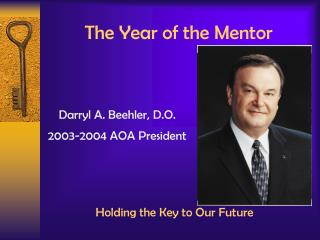 The Year of the Mentor
