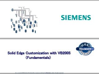 Solid Edge Customization with VB2005          (Fundamentals)