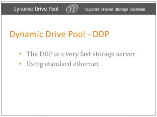 DDP - Dynamic Drive Pool San - How it works