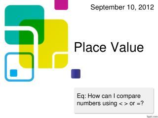 Place Value