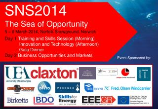 SNS2014  The Sea of Opportunity