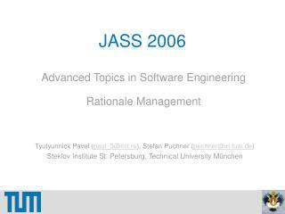 JASS 2006