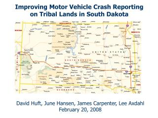 Improving Motor Vehicle Crash Reporting on Tribal Lands in South Dakota