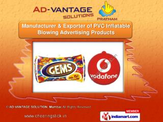 PVC Inflatable Danglers &   Inflatable Advertising Balloons