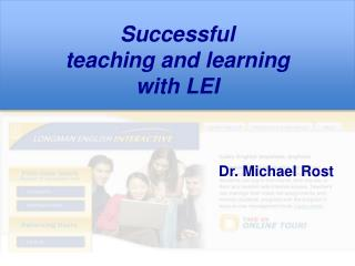 Successful  teaching and learning with LEI