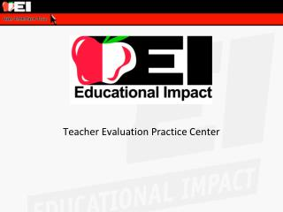 Teacher Evaluation Practice Center