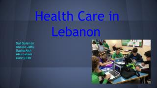 Health Care in Lebanon