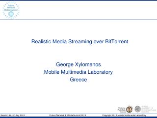 Realistic Media Streaming over BitTorrent