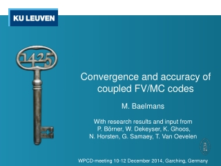 Convergence and Accuracy