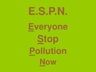 E.S.P.N.