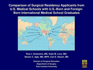 Paul J. Schenarts, MD, Katie M. Love, MD, Steven C. Agle, MD, MPH, Carl E. Haisch, MD