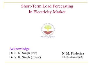 Short-Term Load Forecasting  In Electricity Market